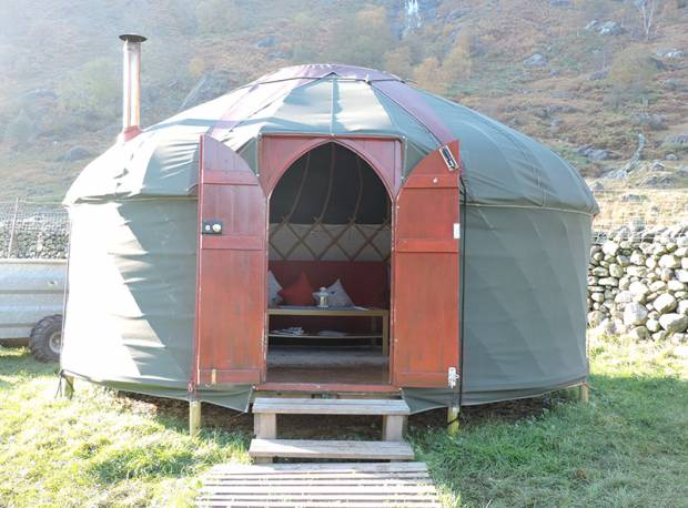 About the Yurts